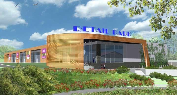 Retail Park Bielsko,centrum handlowe,sklep,market